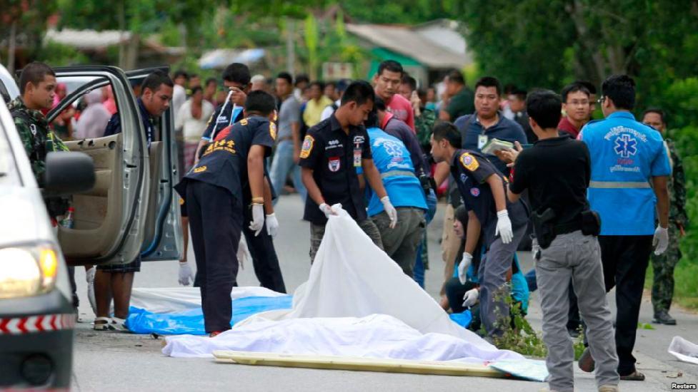 Đánh bom xảy ra liên tiếp ở miền nam Thái Lan