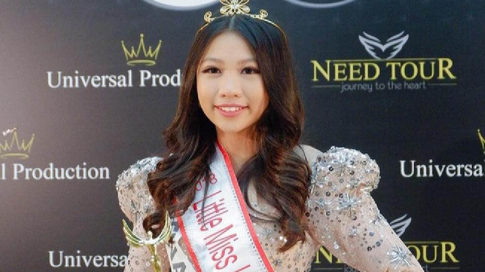 Cô bé 13 tuổi người Việt đăng quang Hoa hậu Hoàn vũ nhí 2018