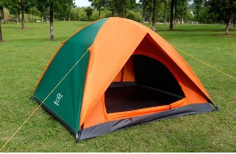 Cách dựng lều chỉ trong 5 phút khi đi du lịch một mình