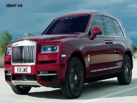 Tất tần tật về Rolls Royce Cullinan mà bạn chưa biết