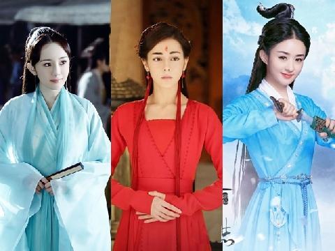 Những mỹ nhân Hoa ngữ mặc trang phục cổ trang đẹp hút hồn