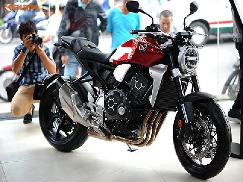 Cận cảnh loạt xế khủng tại Showroom Honda Moto tại HCM