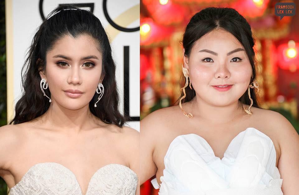 Cosplay hàng hiệu thời trang bằng cách tự làm váy áo bằng đồ ăn, cô bạn Thái Lan tự tin chặt chém mọi nhân vật đình đám - Ảnh 14.
