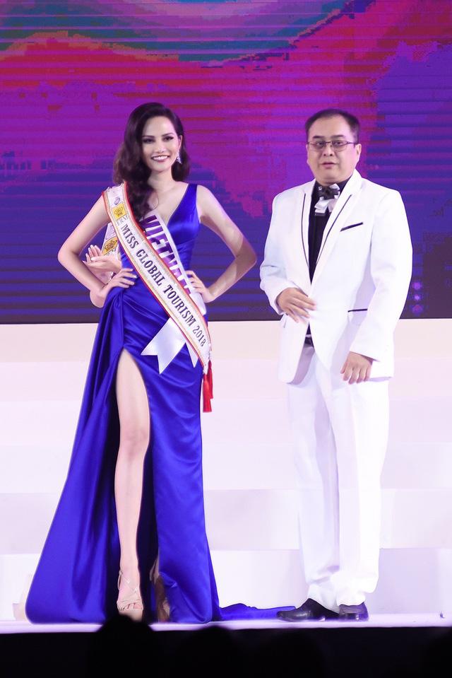 Trong đêm Chung kết, đại diện Việt Nam Nguyễn Diệu Linh được xướng tên nhận danh hiệu Miss Global Tourism - Nữ hoàng du lịch toàn cầu. Đây là kết quả rất bất ngờ khi Nguyễn Diệu Linh được đánh giá cao trong những ngày tham gia tranh tài tại Thái Lan. Thành tích top 10 chung cuộc và danh hiệu Miss Global Tourism chính là phần thưởng cho những nỗ lực của Diệu Linh suốt hành trình vừa qua.