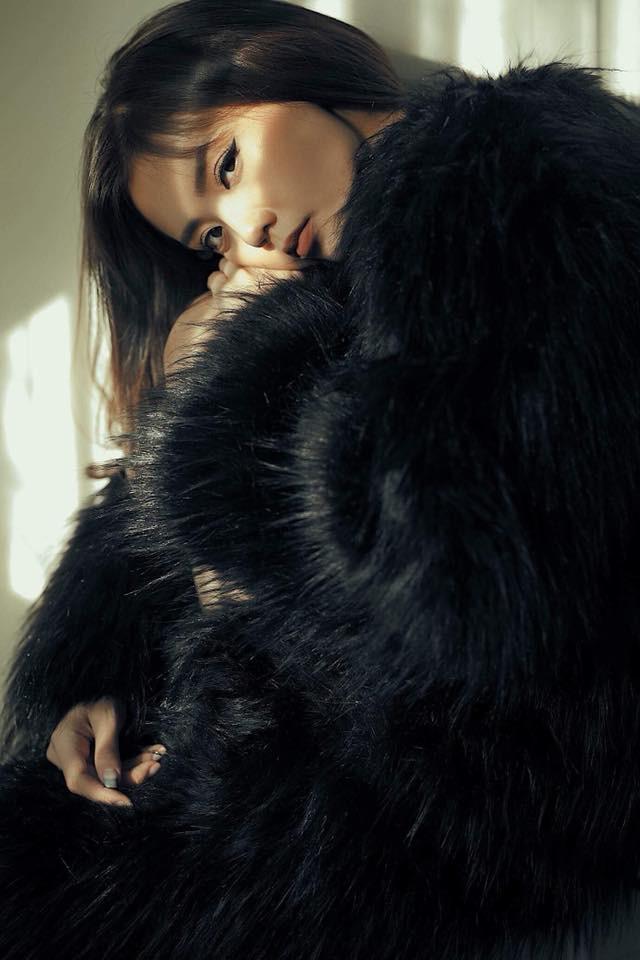 Hot girl Lâm Á Hân khoe hình thể nóng bỏng trong bộ hình dự thi The Face Vietnam 2018 - Ảnh 4.
