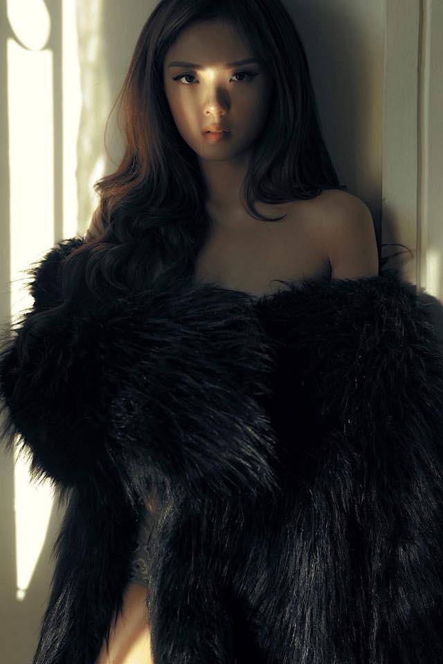 Hot girl Lâm Á Hân khoe hình thể nóng bỏng trong bộ hình dự thi The Face Vietnam 2018 - Ảnh 3.