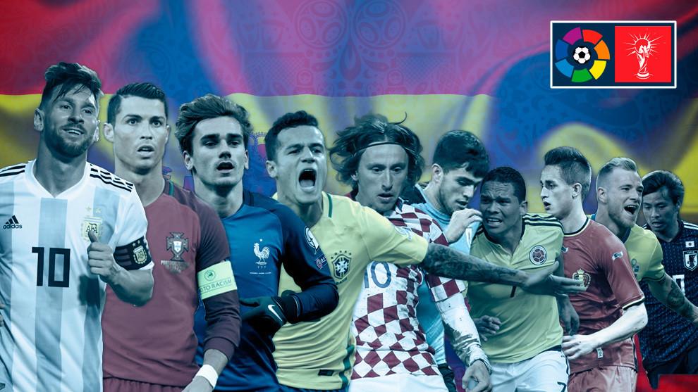 Giai dau La Liga thong tri World Cup 2018 hinh anh 1