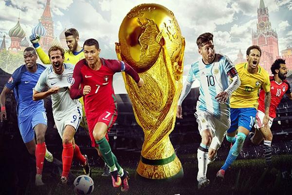 Khán giả Việt Nam có thể yên tâm thưởng thức các trận đấu của World Cup 2018 khi VTV đã mua được bản quyền phát sóng.