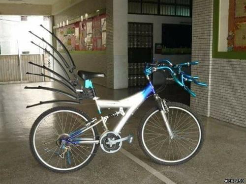Xe đạp thời thượng.