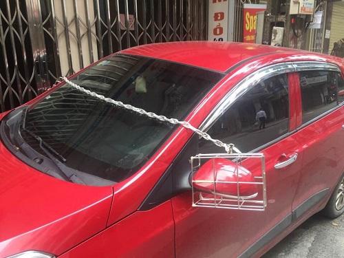Bí kíp chống trộm vặt gương ôtô.