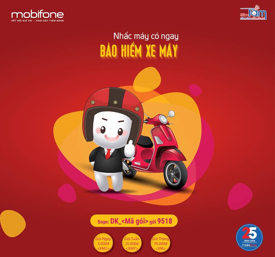 Chỉ cần ngồi một chỗ, thuê bao của MobiFone có thể đăng ký BHXM cho mình.